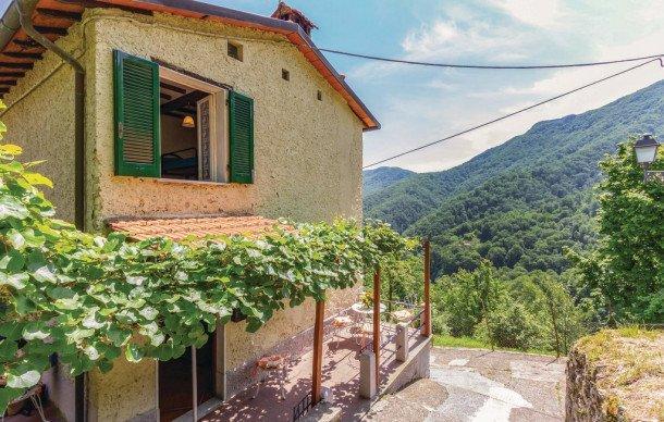 Maison avec cheminée, 5 pièces - Toscane - maison